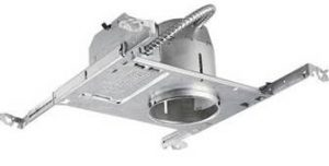 Non-IC New Construction Recessed Light Fixture